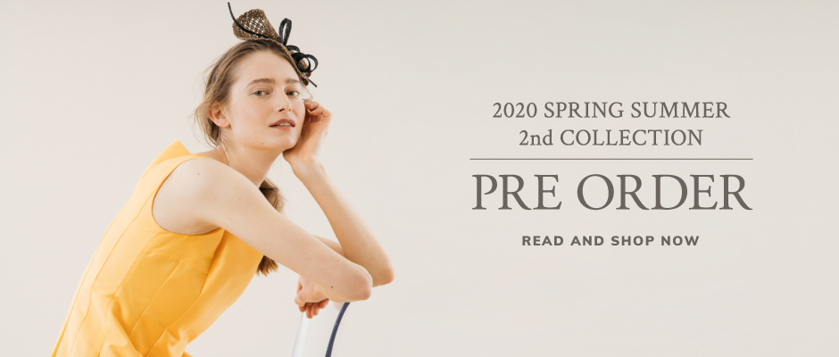 2020ss2nd preorder