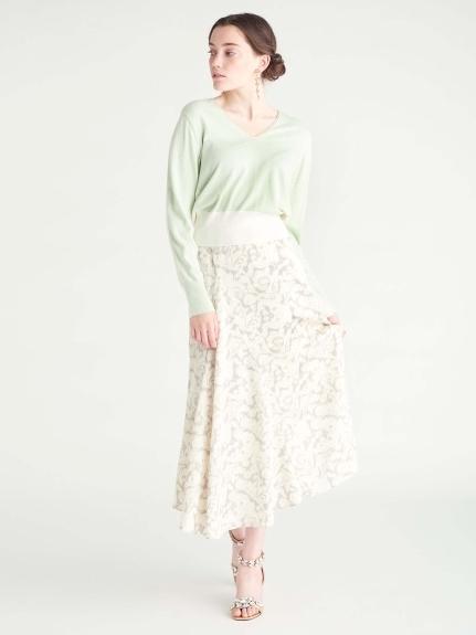 壁紙プリントスカート