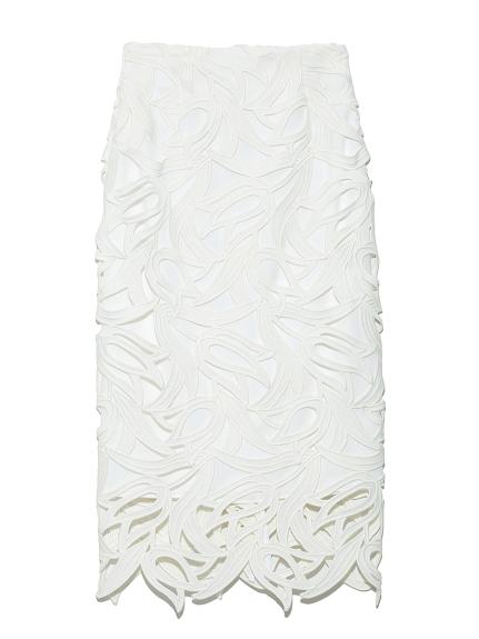 チューリップレーススカート(WHT-36)