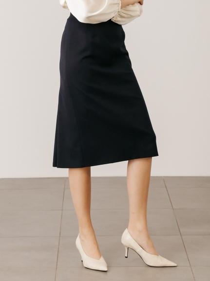 バックタックタイトスカート
