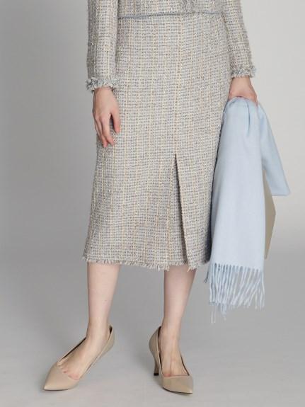 ファンシーツィードスカート