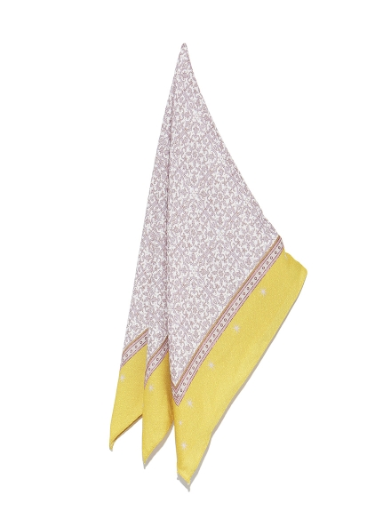 ジャガードプリントスカーフ