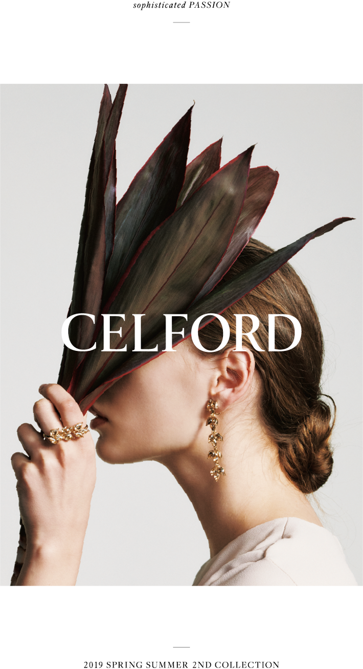 CELFORD 2019 SPRING SUMMER 2ND COLLECTION