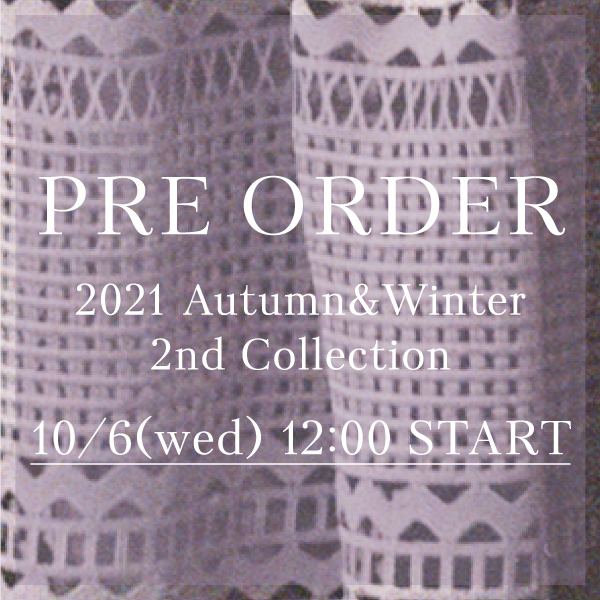 2021 Autumn and Winter 2nd Collection10.6 (wed) 12:00 Pre order Start