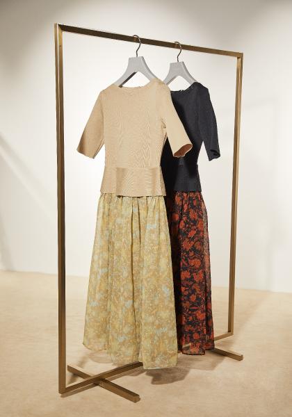 フラワードッキングドレス