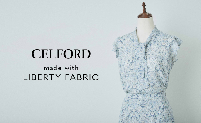 CELFORD made with LIBERTY FABRIC