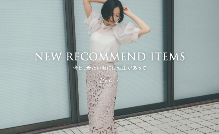NEW RECOMMEND ITEMS